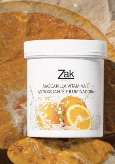 Cosméticos con vitamina C